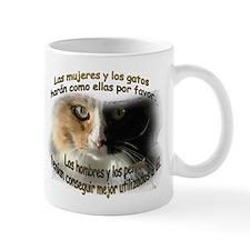 Las mujeres y los gatos Mug (2-sided)