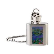J Monet WLRed Flask Necklace