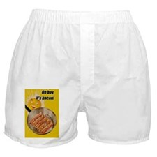 Oh Boy Its Bacon Boxer Shorts