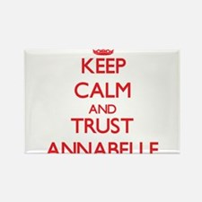 Keep Calm and TRUST Annabelle Magnets