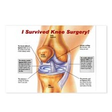 Knee Surgery Gift 11 Postcards (Package of 8)