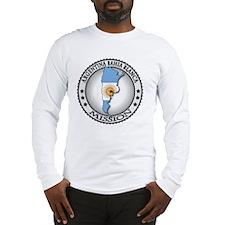 Argentina Bahia Blanca LDS Mis Long Sleeve T-Shirt