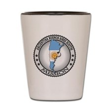 Argentina Buenos Aires South LDS Missio Shot Glass