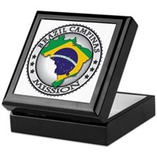 Brazil Campinas LDS Mission Flag Cuto Keepsake Box