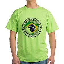 Brazil Brasilia LDS Mission Flag Cut T-Shirt