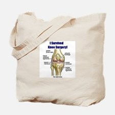 Knee Surgery Gift 10 Tote Bag