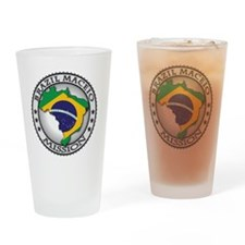 Brazil Maceio LDS Mission Flag Cuto Drinking Glass
