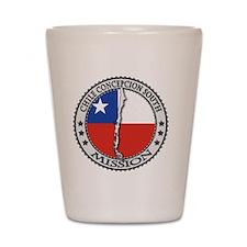 Chile Concepcion South LDS Mission Flag Shot Glass