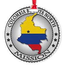 Colombia Bogota North LDS Mission F Ornament
