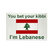 Lebanese Kibbi Rectangle Magnet
