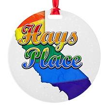 Hays Place Ornament