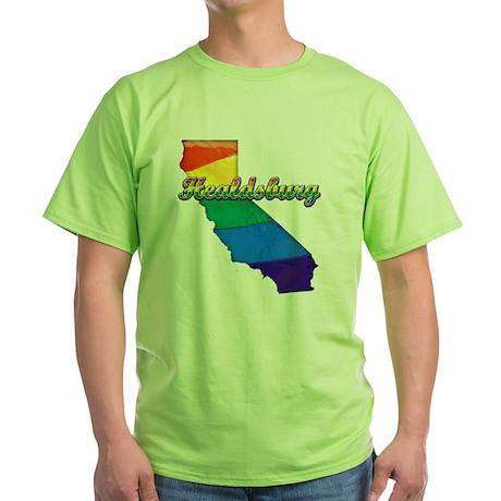 Healdsburg Green T-Shirt