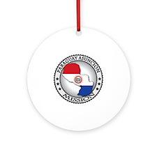 Paraguay Asuncion LDS Mission Flag  Round Ornament