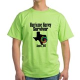 Hurricane harvey Green T-Shirt