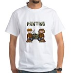 Hunting White T-Shirt