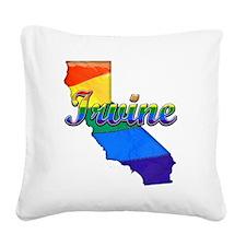 Irvine Square Canvas Pillow