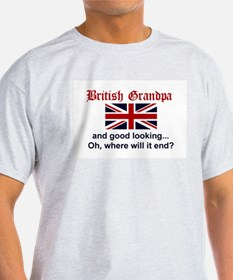 British Grandpa-Good Lkg T-Shirt
