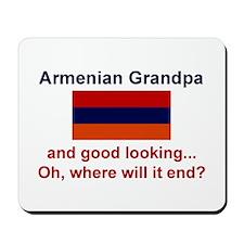 Gd Lkg Armenian Grandpa Mousepad