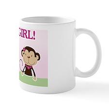 Its a Girl Baby Shower Yard sign Small Mug