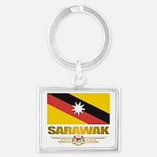 Sarawak (Flag 10)2 Landscape Keychain