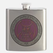 seal of rlyeh color Flask