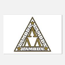 Unique Lambda Postcards (Package of 8)