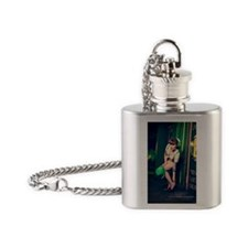 MARCHmag1 Flask Necklace