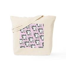 cute raccoon flip flops Tote Bag
