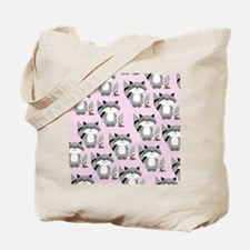 cute raccoon flip flops Tote Bag