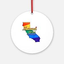Manuel Mill Round Ornament