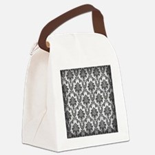 damask10x10re Canvas Lunch Bag