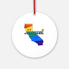 Marcel Round Ornament