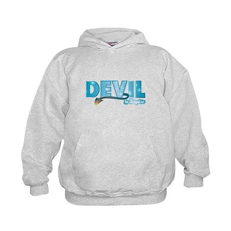 Devil In Disguise Kids Hoodie
