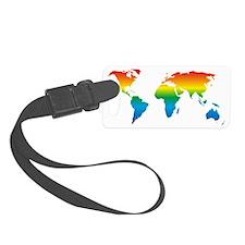 world-design-equirect_rainbow_3 Luggage Tag