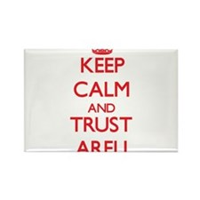Keep Calm and TRUST Areli Magnets