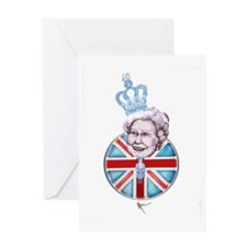 Diamond Jubilee Design | Queen Eliza Greeting Card