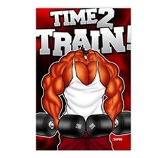 TIME2TRAIN_mp Postcards (Package of 8)