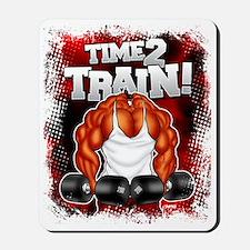 TIME 2 TRAIN! Mousepad