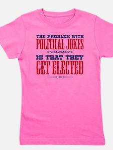 politicaljokes copy Girl's Tee