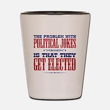 politicaljokes copy Shot Glass