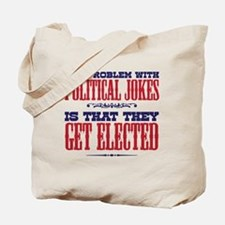 politicaljokes copy Tote Bag