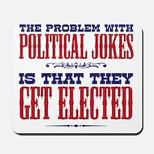 politicaljokes copy Mousepad