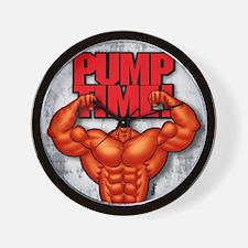 PUMPTIME_mp Wall Clock