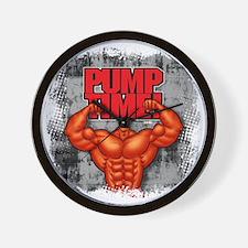 PUMPTIME_mug Wall Clock