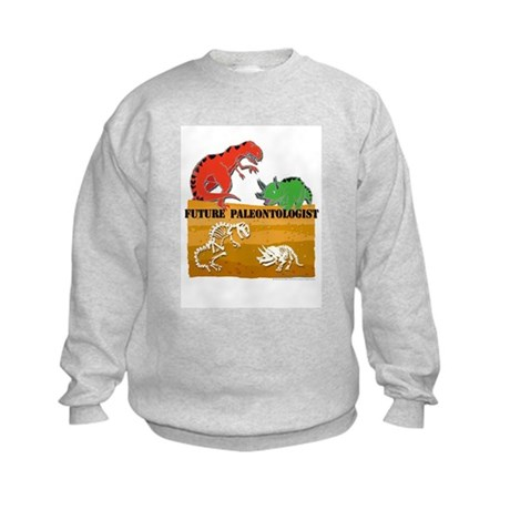 Future Paleontologist Kids Sweatshirt