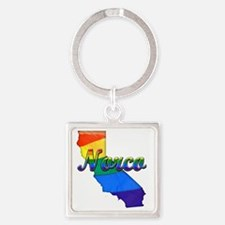 Norco Square Keychain