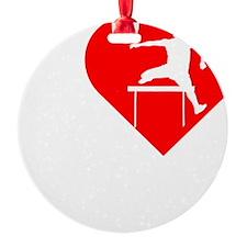 I-Heart-Track2 Ornament