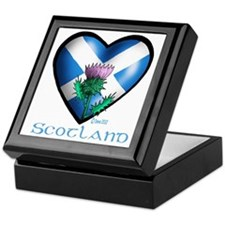 Heart and Thistle Keepsake Box