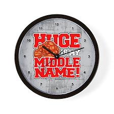 hugemiddlename_CLOCK2 Wall Clock