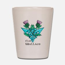 Wallace Two Thistles Shot Glass